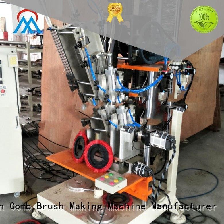 Meixin brush making machine price three colors brush for floor clean