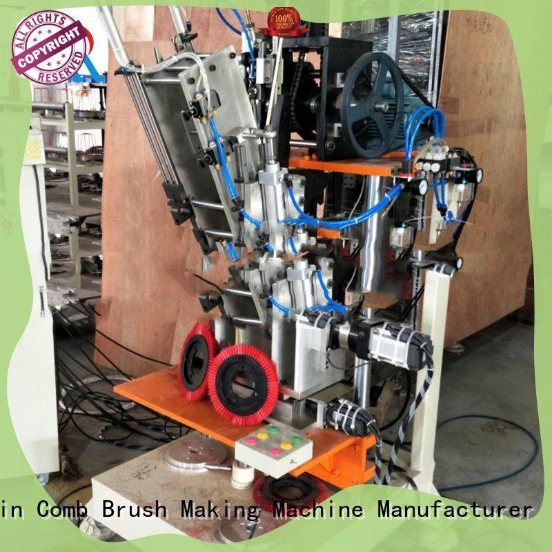 drilling 2 axis broom machinery Low noise for factory Meixin