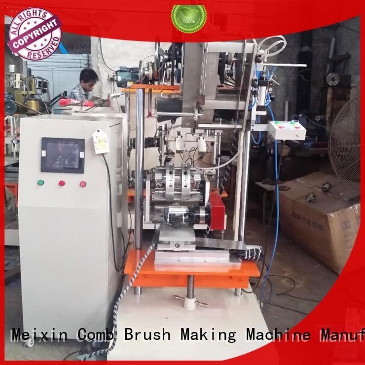 hockey toilet brush making machine TWISTED WIRE BRUSH Meixin