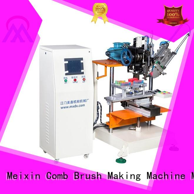 cnc flat industrial 2 Axis Brush Making Machine Meixin Brand company
