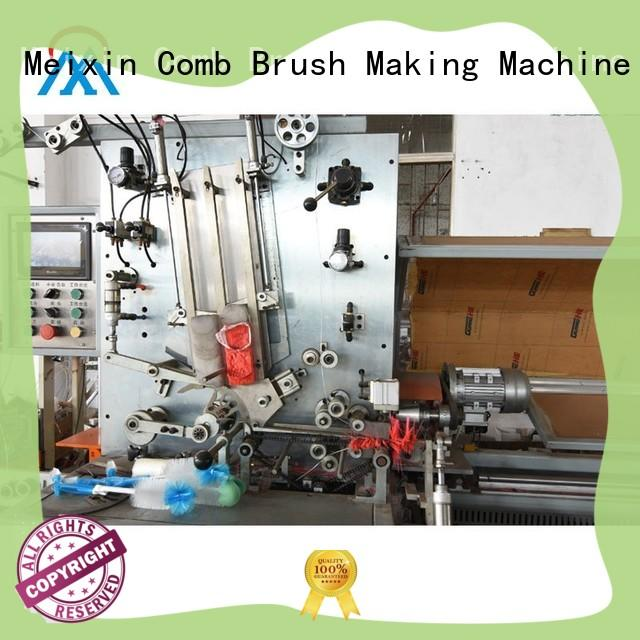 flagging Brush Filling Machine twisted for no dust broom Meixin