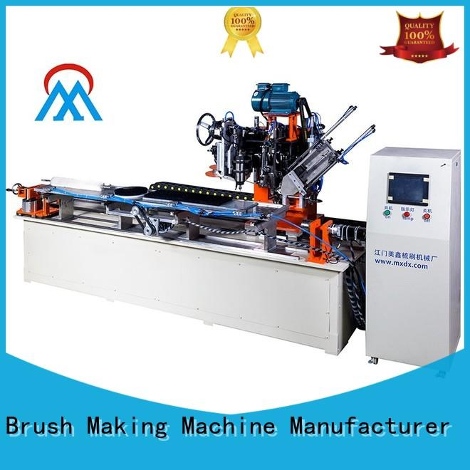 Meixin stable brush making machine at discount for industry