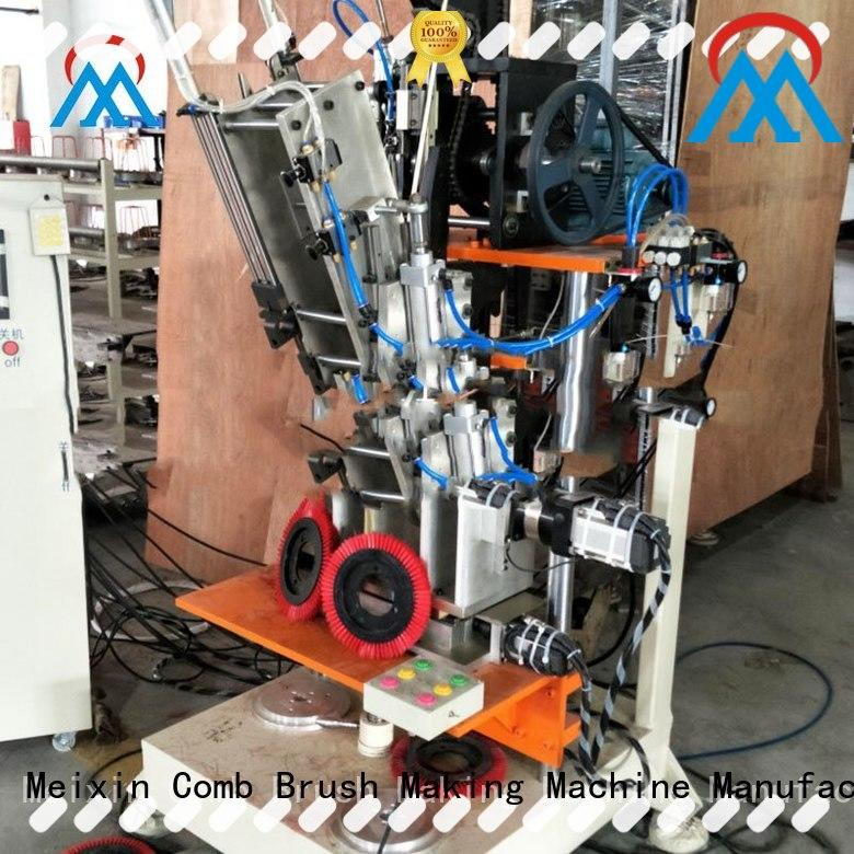 Meixin 2 axis cnc three colors brush for floor clean