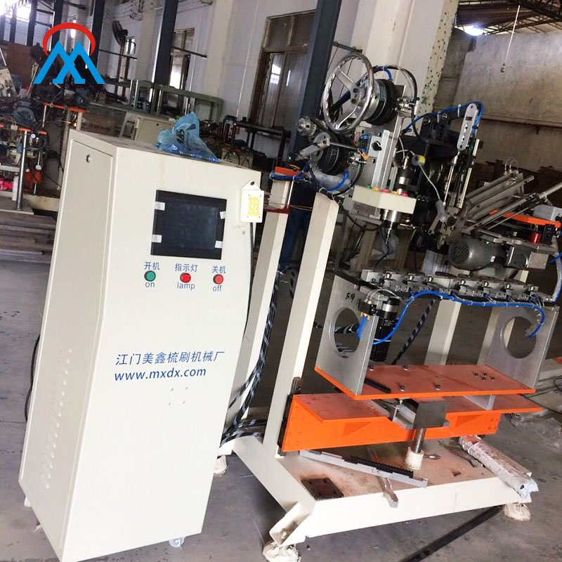 Meixin CNC High Speed 2 Axis Industry Strip Brush 2 Heads Drilling And 1 Head Tufting Machine MX204 Other Brush Machines image22