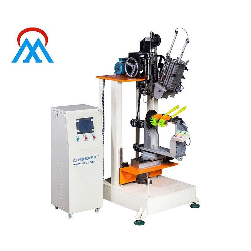 4 Axis Double Hockey Toilet Brush Making Machine MX305