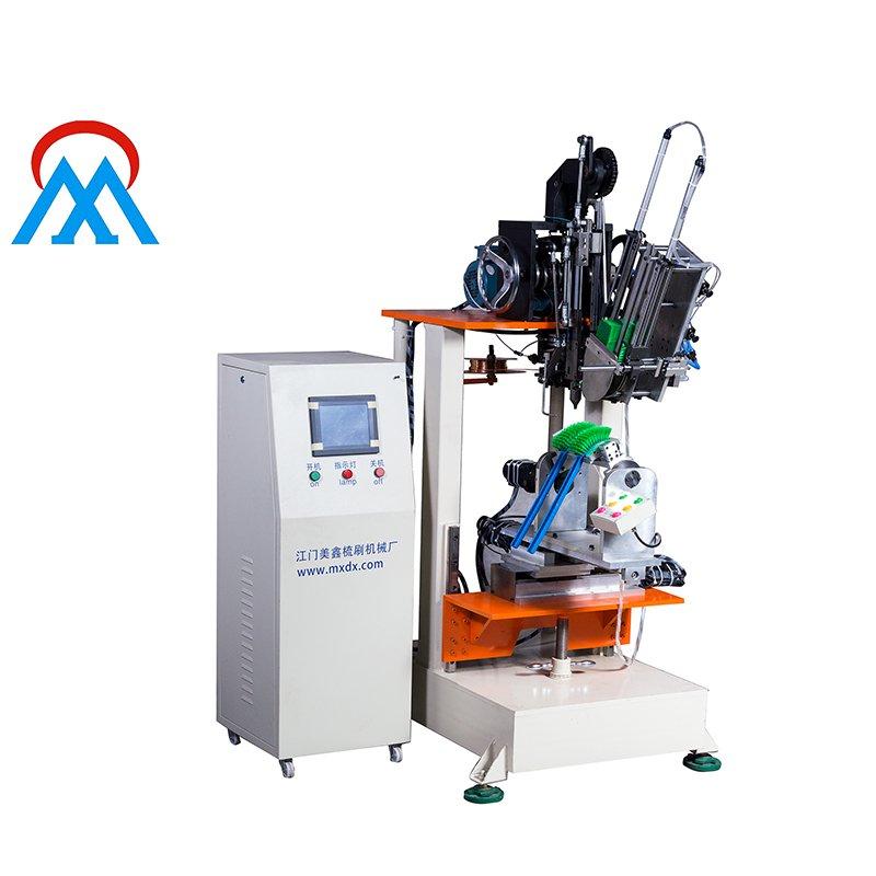 Meixin 3 Axis Hockey Brush Tufting Machine MX311 3 Axis Brush Making Machine image6