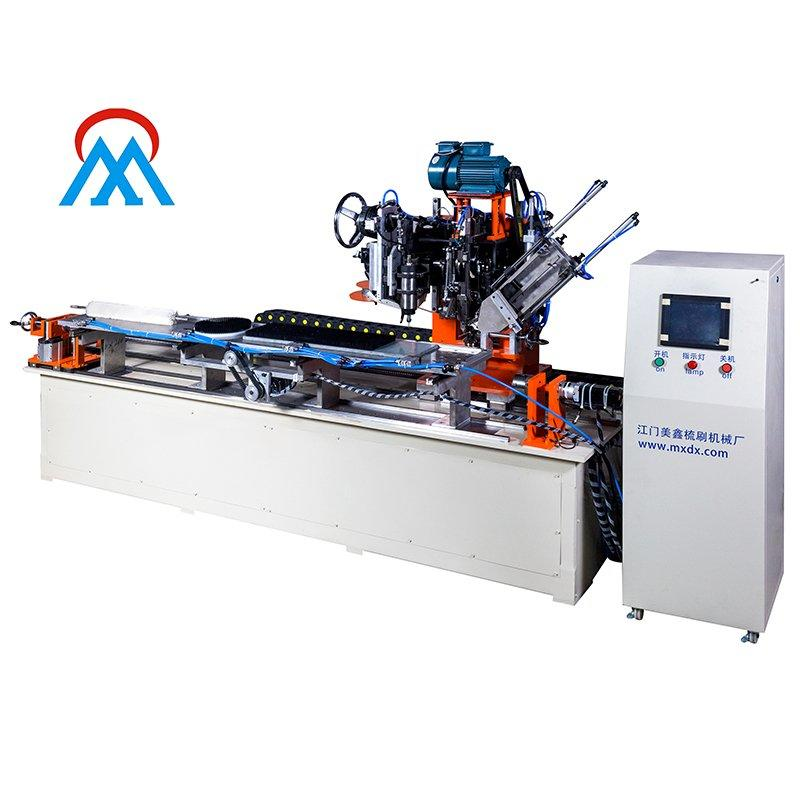 3 Axis Roller Brush Drilling and Tufting Making Machine MX313