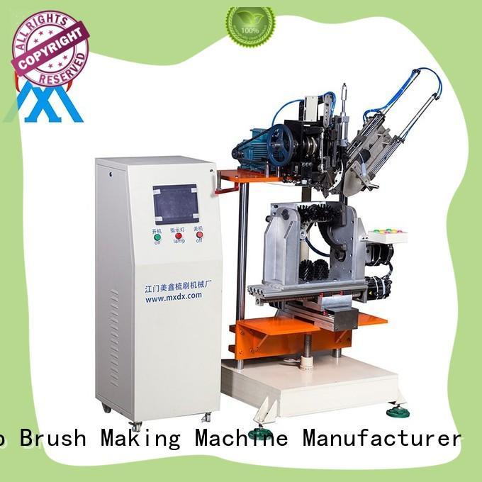 Meixin durable 4 axis milling machine brush toilet bush making
