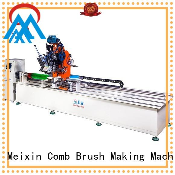 broom wire brush machine axis for industry Meixin