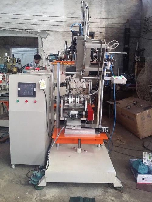 broom wire brush machine axis for industry Meixin-2