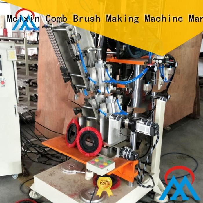 Meixin high volume cheap cnc machine three colors brush for factory
