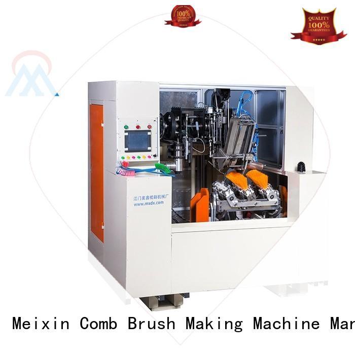 Hot adtech 5 Axis Brush Making Machine broom mx307 Meixin Brand