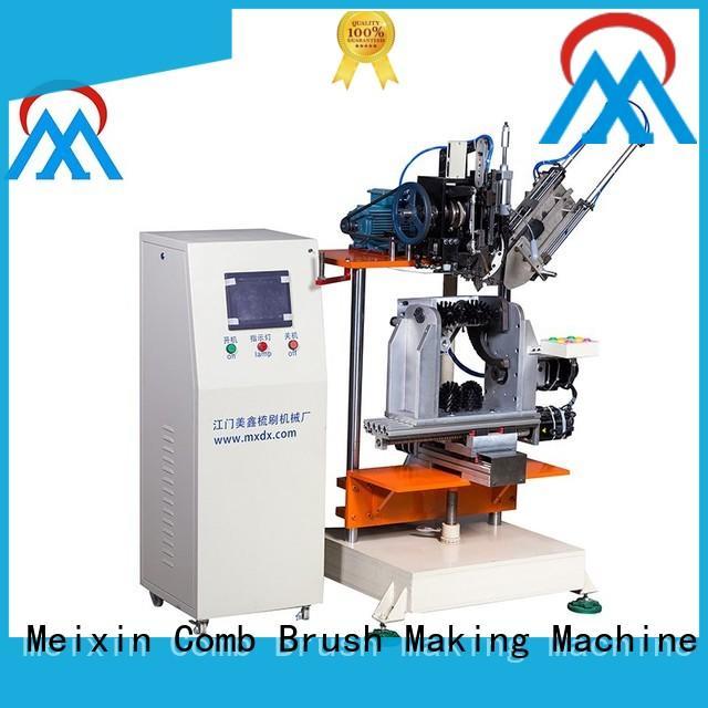 Meixin 4 Axis Brush Making Machine supplier toilet bush making
