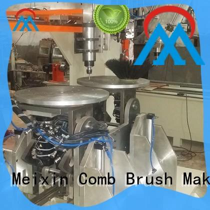 cost effective 5 axis 2 drilling and tufting besom making machine customization for industrial