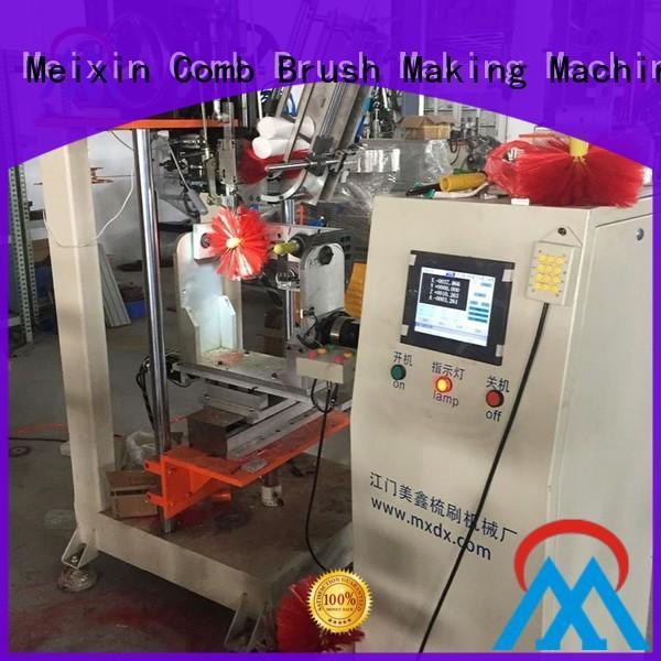 Meixin 4 Axis Brush Making Machine supplier ceiling bush making
