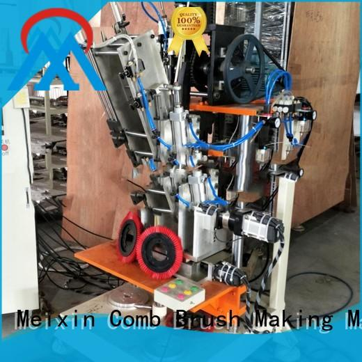 2 Axis Brush Making Machine Low noise for floor clean Meixin