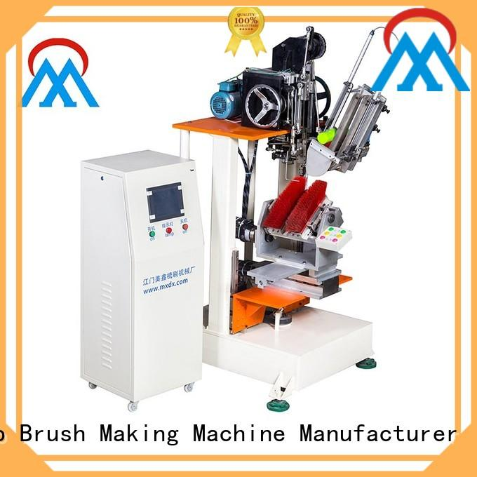 Meixin 4 Axis Brush Making Machine automatic toilet bush making