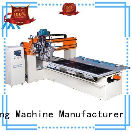 Meixin Brand tufting industrial 2 aixs cloth brush machine