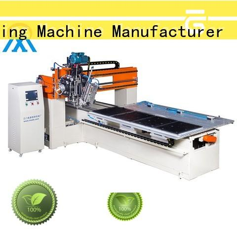 cloth cnc drilling machine three colors brush for factory Meixin