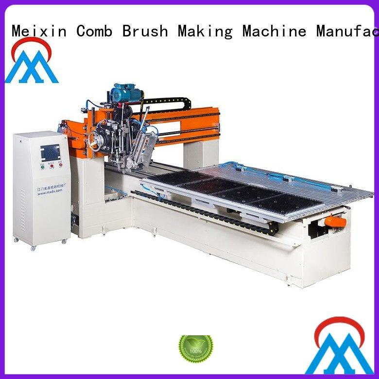 Meixin automatic 2 Axis Brush Making Machine directly sale for commercial