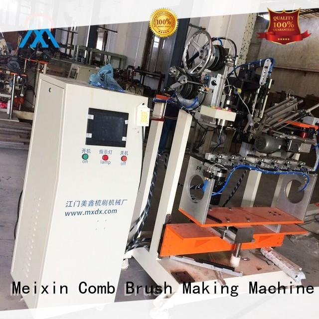 cost effective 2 aixs cloth brush machine three colors brush for floor clean Meixin