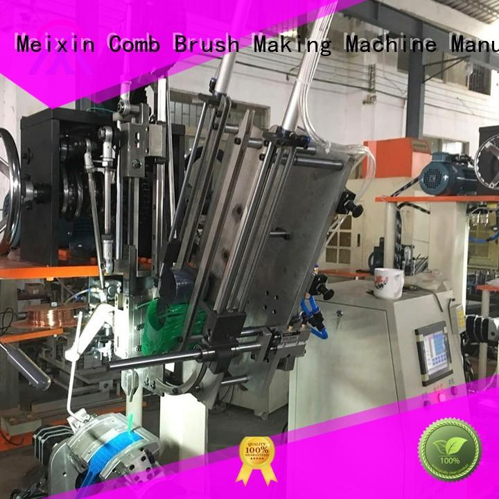 flat 3 axis cnc mill manufacture TWISTED WIRE BRUSH Meixin