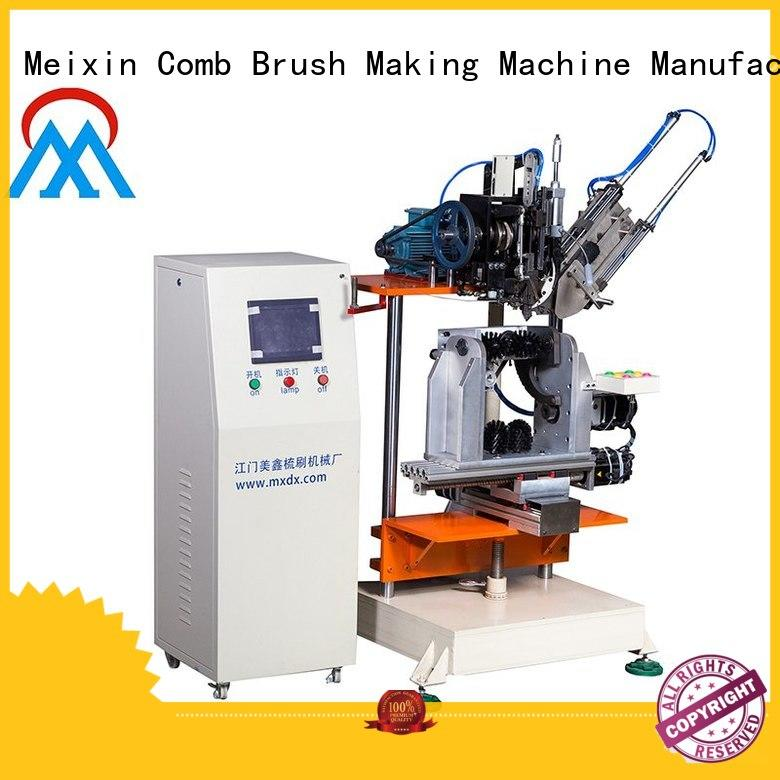 Meixin portable 4 Axis Brush Making Machine at discount for factory