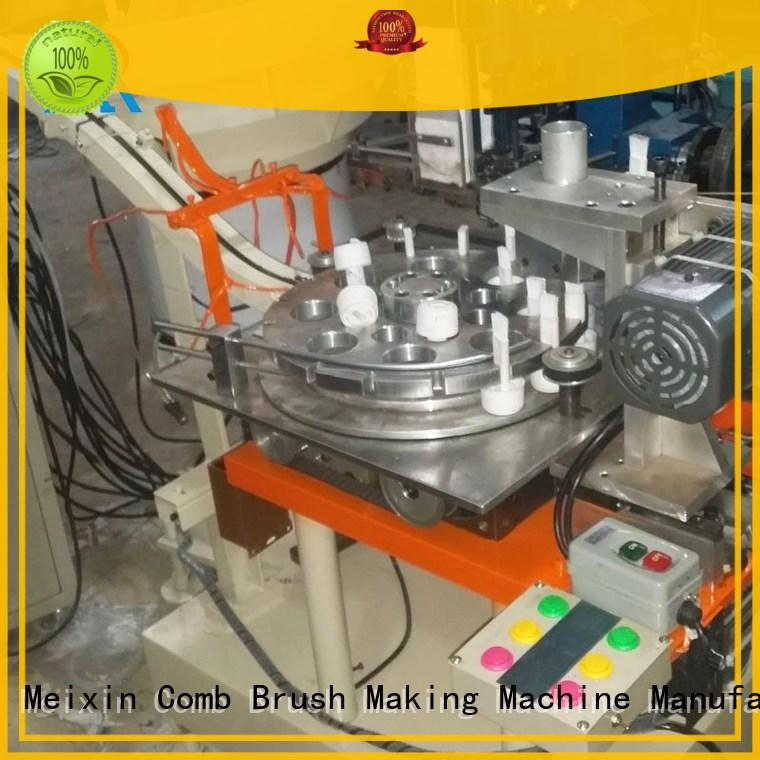 Meixin automatic Plastic Brush Making Machine twisted for no dust broom