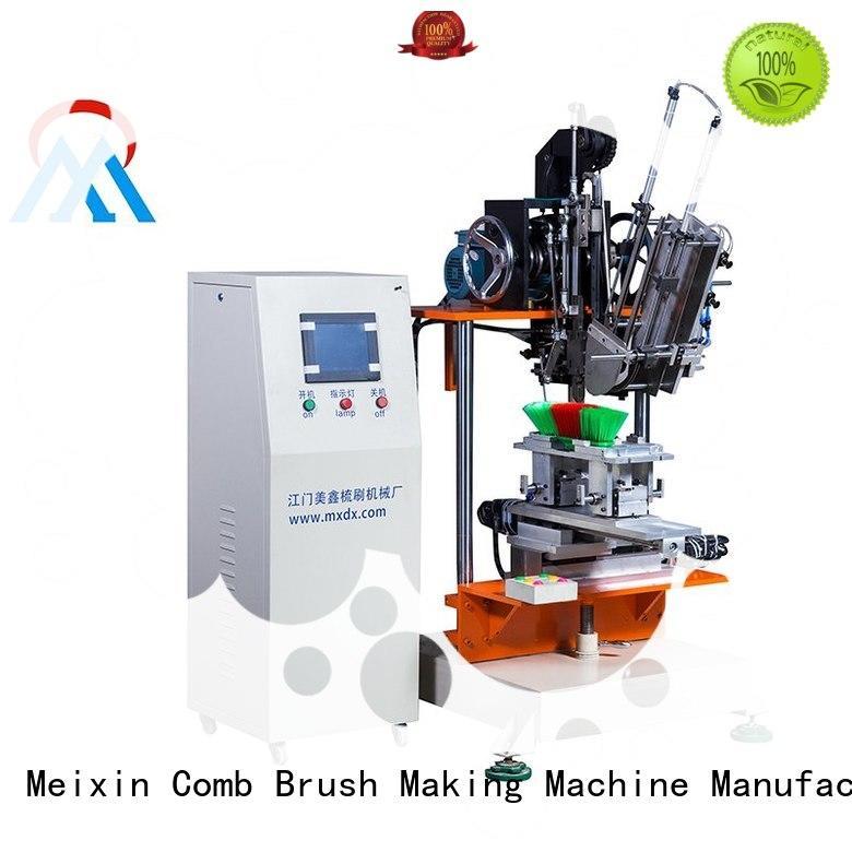 Quality Meixin Brand 2 aixs cloth brush machine drilling disc