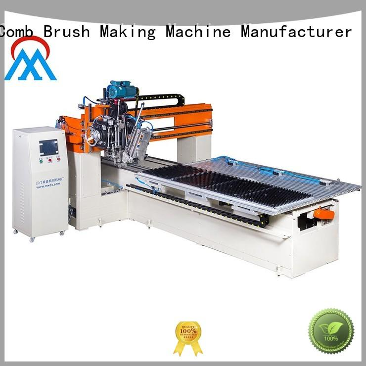 Meixin high volume 2 Axis Brush Making Machine Low noise for factory