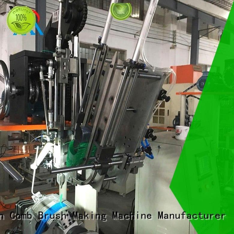 industrial hockey brush Meixin Brand 3 Axis Brush Making Machine