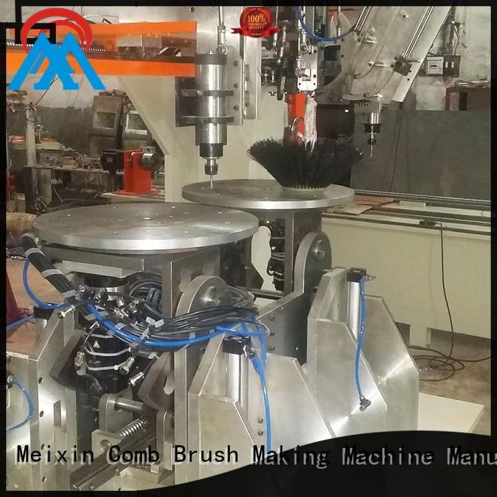 drilling macking Meixin Brand 5 Axis Brush Making Machine