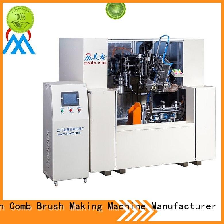 top quality 5 axis 2 drilling and tufting besom making machine bulk production for commercial