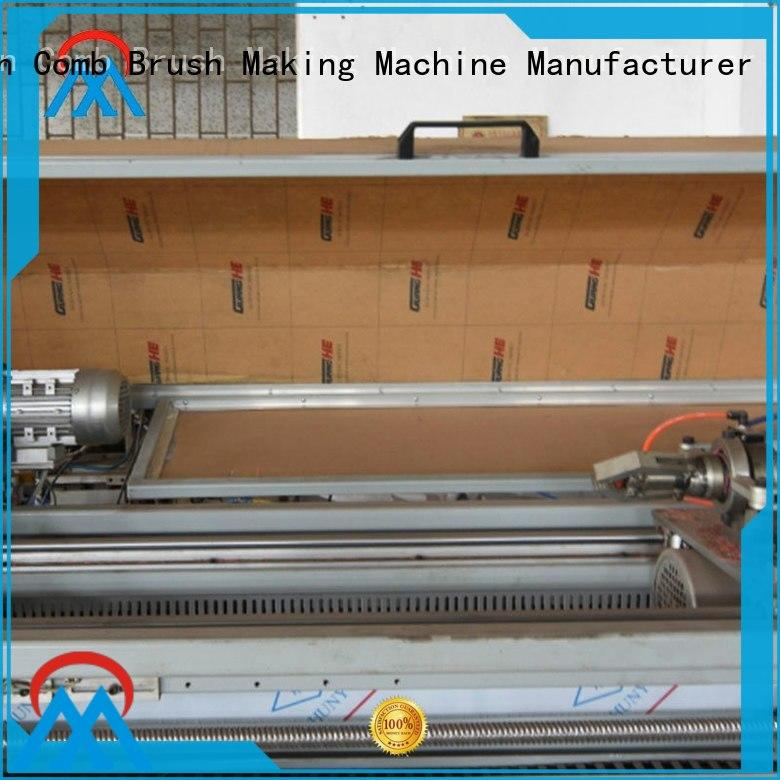 Meixin Flat 3 axis milling machine high efficiency TWISTED WIRE BRUSH