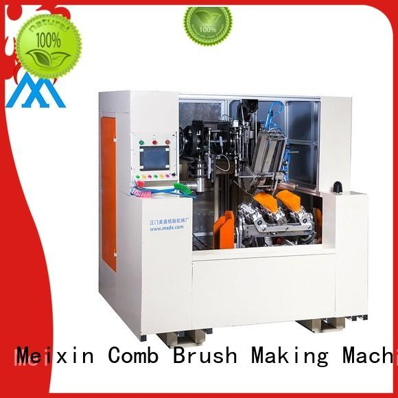 5 Axis 2 Drilling and 1 Tufting Broom Macking Machine MX308