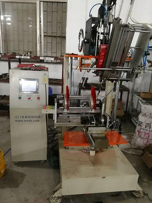 broom wire brush machine axis for industry Meixin-1