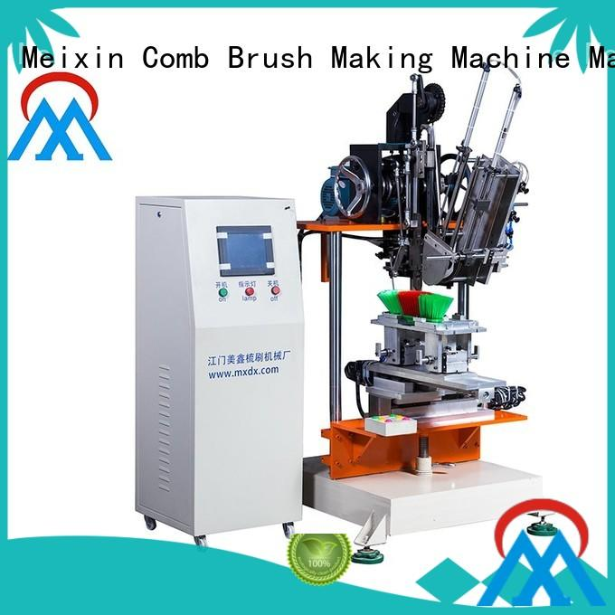 Custom making flat 2 Axis Brush Making Machine Meixin drilling