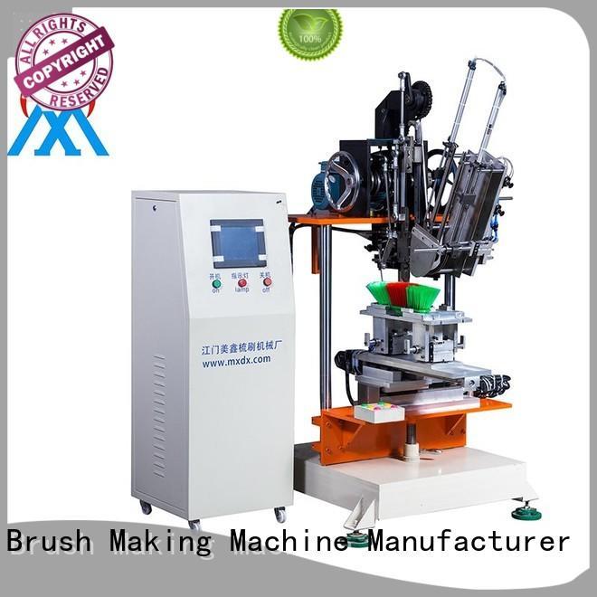 mx303 broom drilling 2 aixs cloth brush machine Meixin Brand