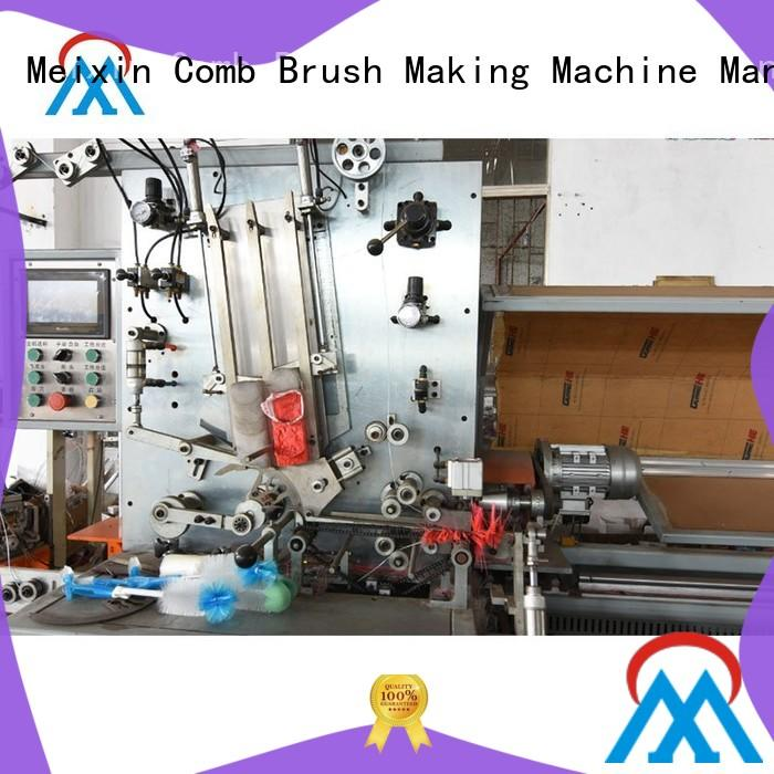 nail Plastic Brush Making Machine twisted for no dust broom