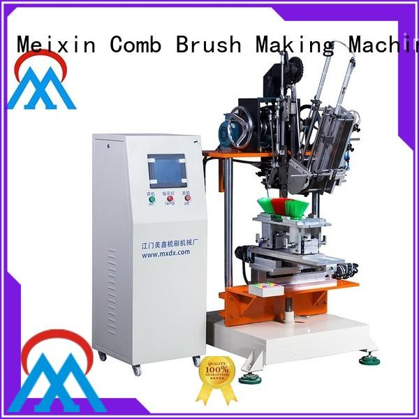 cost effective 2 Axis Brush Making Machine Low noise for floor clean