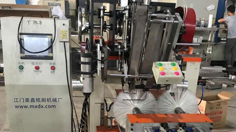 Roller brush machine made by MEIXIN manufacture PZ-02-Meixin