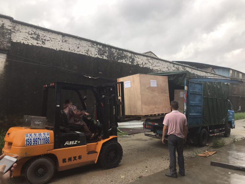 Meixin-One Roller Brush Machine Ship To Vietnam - Meixin Comb Brush