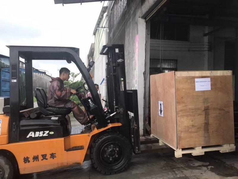 Meixin-One Roller Brush Machine Ship To Vietnam - Meixin Comb Brush-1