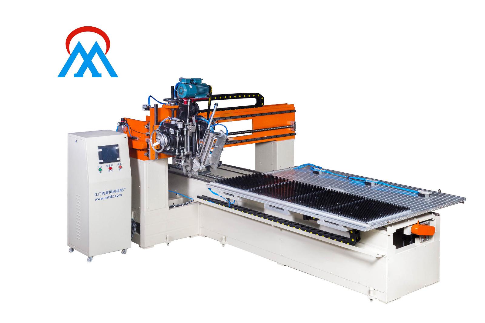 Meixin-One Roller Brush Machine Ship To Vietnam - Meixin Comb Brush-2
