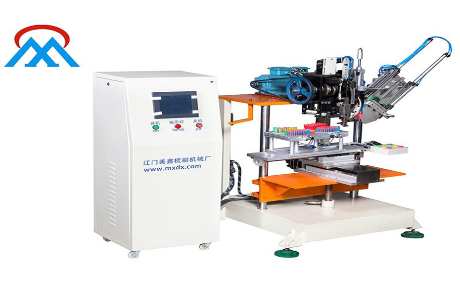 Meixin-2 Axis Broom And Brush Making Machine Simple Analysis, Meixin Comb Brush