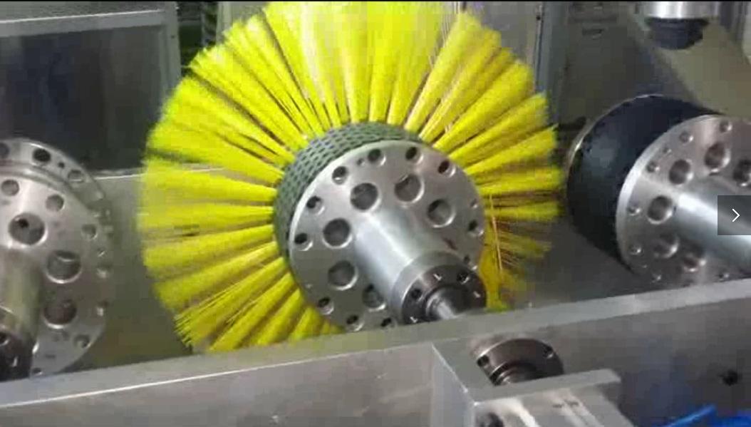 Plastic hollow bar tufting making machine-Meixin