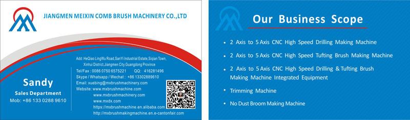 Meixin-Double Hockey Toilet Brush Machine | Video Manufacture