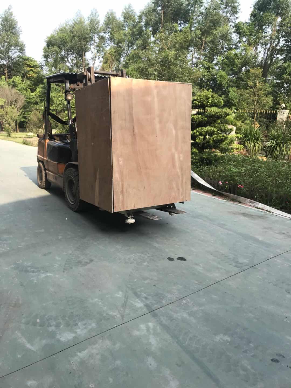 Meixin-India cargo 2Aixs Broom Make Machine and 1set Industrial flat brush tufting machine loading t