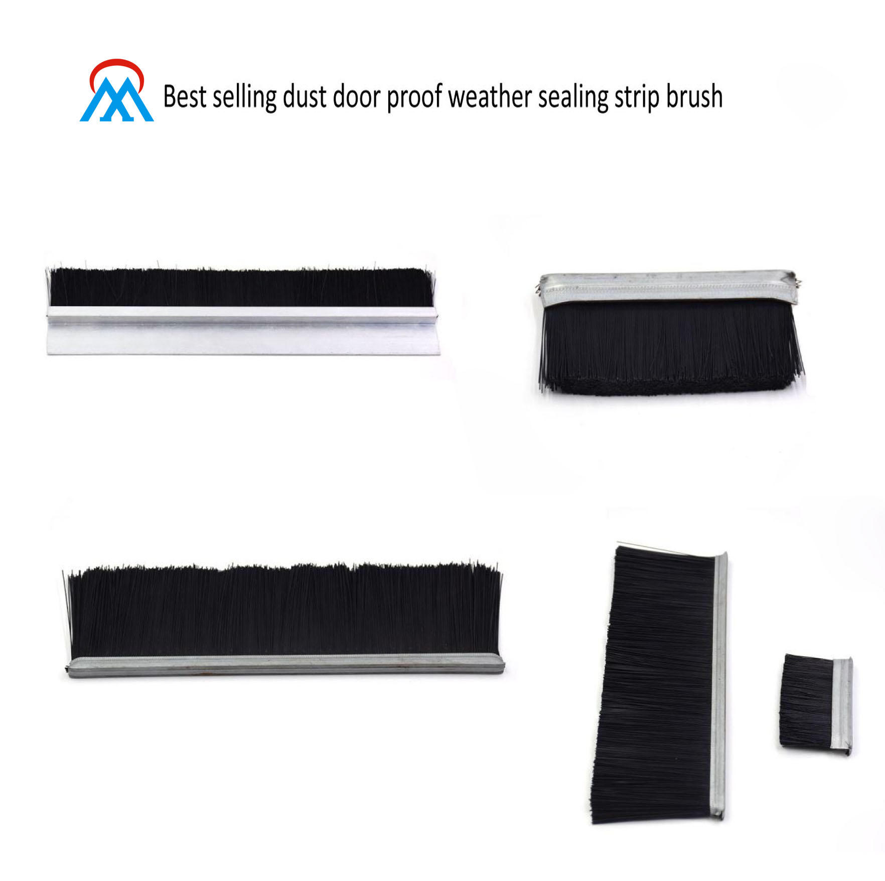 Best selling dust door proof weather sealing strip brush