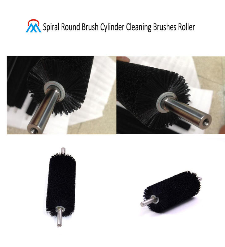 Spiral Round Brush Cylinder Cleaning Brushes Roller